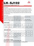 Schweißens-Fluss-Puder Sj102 für das Überziehen/Bestückung/Umhüllung