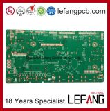 PWB frente e verso da placa de circuito impresso para de controle remoto