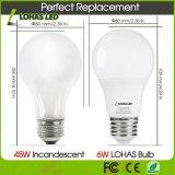 Home Lighting를 위한 6000K/4000K/2700K Color Changing LED Light 6W E26 LED Bulb