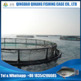 Round Gaiolas Flutuantes para criação de salmão