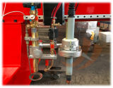 Maquinaria conduzida dobro da estaca do plasma do CNC da estrutura do pórtico