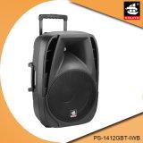 12 Actieve Spreker pS-1412gbt-Iwb van Bluetooth van het Karretje van de Karaoke van DJ van de Partij van de duim de Mobiele Navulbare