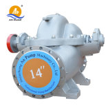 Horizontaler doppelte Absaugung-aufgeteilter Fall-zentrifugale Wasser-Pumpe