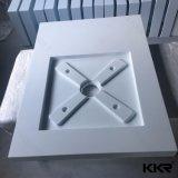 Base di superficie solida acrilica dell'acquazzone della mobilia della stanza da bagno, cassetto dell'acquazzone