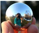 Specchio dell'OEM o sfera spazzolata della cavità dell'acciaio inossidabile 304 della superficie 50mm con spessore 0.6mm