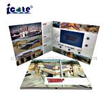 Material de papel y el arte, Estilo 7'' de la tarjeta de vídeo LCD para publicidad