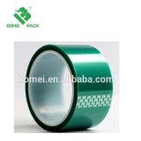 방열 실리콘 접착성 애완 동물 필름 녹색 폴리에스테 테이프