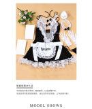 Выставка ночного клуба заманчивости сексуального женское бельё обмундирования горничной равномерная горничная