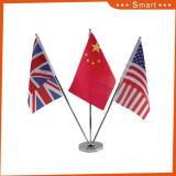 Douane Al Land Gekleurde Vlag van de Lijst met de Basis van het Metaal