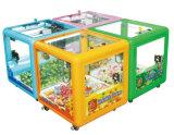 2017熱い販売の遊び場の小型おもちゃのキャッチャーの販売のゲーム・マシンの立方体ボックス販売のための小型おもちゃクレーン爪機械