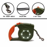 Nova 4m Auto Capota reflexo LED Produto Pet Dog leash