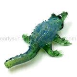 تمساح أخيرة زجاجيّة يد أنابيب لأنّ تبغ يدخّن بالجملة ([إس-هب-109])