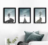 La pared cuelgan fotos para decoración Comedor