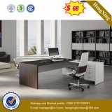 Pintura de alto brillo MDF mesa de madera de oficina ejecutiva (HX-ND5019)