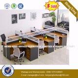 現代光沢のある事務机の木の管理表(HX-8NR0289)