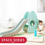 أطفال داخليّة بلاستيكيّة أرجوحة ومنزلق لعبة مجموعة