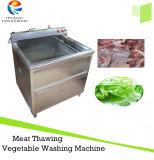 Fruit végétal lavant désinfectant la rondelle congelée différente de dégel de viande