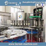 Terminar la línea de relleno de la embotelladora del agua mineral de la bebida