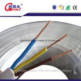 Fil plat de cuivre isolé par PVC réel de câble électrique de câble plat du câble plat CCA d'usine