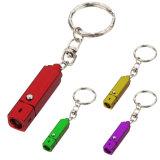 최신 판매 소형 다중 LED Keychain 병따개 플래쉬 등 토치 빛