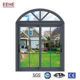 Alumínio Windows deslizante e portas com projeto da grade