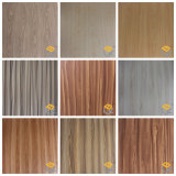 Темная линия дерева зерна декоративной бумаги для мебели или на полу от китайского производителя