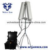 haute énergie de 600W 4-8bands jusqu'au brouilleur de bourdon de 2500m