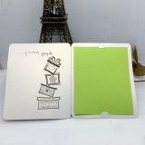 Изготовленный на заказ карточка подарка печатание с по-разному бумагой