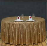 Ткани таблицы золота прямоугольника скатерти Sequin шнурка вышивки для домашнего декора таблицы свадебного банкета
