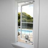 Escoger la ventana que hace pivotar de aluminio esmaltada con precio barato