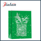 Sac de cadeau de papier d'achats d'emballage de cadeau de Noël de promotion de prix usine