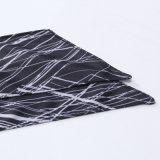 Ouvrez le bandage foulard personnalisé de la sueur des écoulements sports Basket-ball serviette Anti-Sweat patinage bandeau couleur Gris lignes