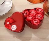 Cadeaux de mariage en gros, décorations de mariage, cadre de fête de savon de Rose de cadeau de décor (YB-BX-461)