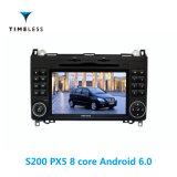 Timelesslong Android 6.0 S200 платформа 2DIN автомобильный радиоприемник проигрыватель DVD для Мерседес Бенцкласса A/B/ построен в Carplay (TID-W068)