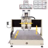 Doppia falegnameria del router di CNC della macchina di CNC dell'asse di rotazione