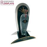 Contre- étalage fait sur commande acrylique de Glorifier avec le panneau arrière pour le vin