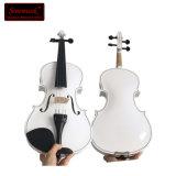 Setzt guter Verkauf gekennzeichnete chinesisches Weiß-Violine für Preis Kasten fest