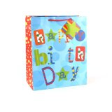 Cumpleaños ropa azul zapatos de moda bolsa de papel de regalo Juguetes