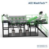 Économies d'énergie et de protection environnementale des déchets de plastique contaminés Système de séchage de lavage de meulage