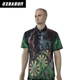 De in het groot Overhemden Van uitstekende kwaliteit van het Polo van het Pijltje van de Polyester van de Douane Ongemerkte 100