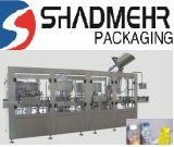 Frasco de vidro de embalagem de enchimento de bebidas de sumo
