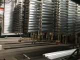 Het Profiel van de Sjerp van de Deur van het aluminium met de Deklaag van de Elektroforese