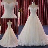 Выключение плечо кружева Prom Платье вечернее устраивающих платье для свадьбы