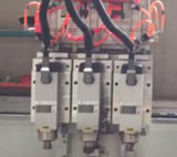 3개의 스핀들 목제 MDF 절단을%s 목제 CNC 대패 기계