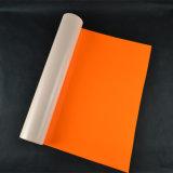 Het Wieden van het Neon van Wholsale het Oranje Gemakkelijke Vinyl van de Overdracht van de Hitte voor Textiel