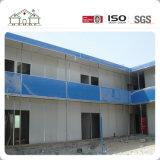 Casa pré-fabricada isolada calor do edifício da construção de aço