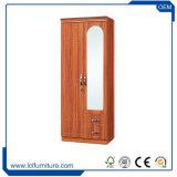Knock Down Pack plat pays de résidence de style 2 MDF Chambre moderne en bois de la porte d'armoires