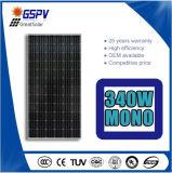 340W panneau solaire monocristallin avec le TUV, ce, GV, conformités de CQC