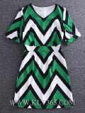 Vestito Short-Sleeved dalle nuove di modo di estate donne di stampa