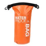 Trockener Beutel-Nylonrucksack-im Freien wasserdichte Kanu-Schwimmen, die Rucksäcke der großen Kapazitäts-wandernd 2L kampiert
